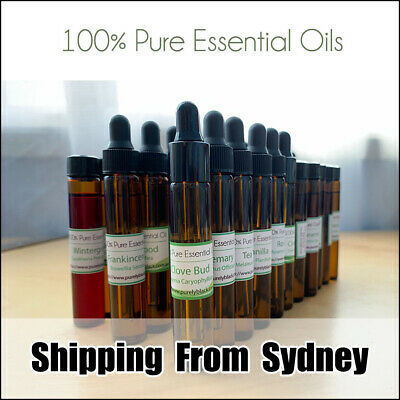 AU13.95 • Buy 100% Pure Aromatherapy Essential Oil 10ML In Glass Dropper Pipettes Bottles