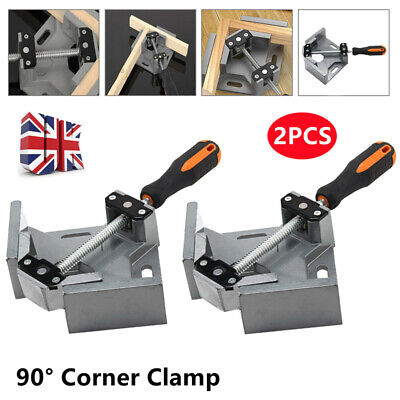 £17.29 • Buy 2Pcs 90° Right Angle Clamps Corner Clamp Vice Grip Welding Woodworking Clip UK