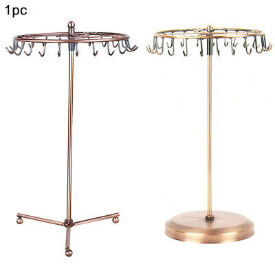 £8.49 • Buy Rotating Stand Necklaces Desktop High Capacity Jewelry Display Rack Storage Home