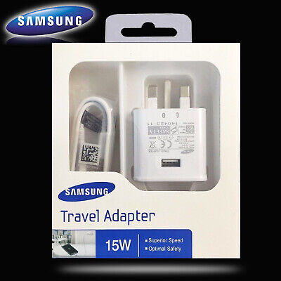 $ CDN8.49 • Buy 100% GENUINE FAST CHARGER PLUG & CABLE  SAMSUNG GALAXY S7 S6 EDGE S8 S9 S10 Note