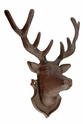 £21.40 • Buy Stag Wall Decoration - Cast Iron - Garden Outdoor -  25.9cm
