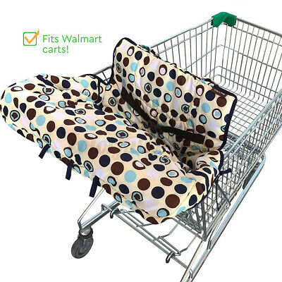 £14.69 • Buy Baby Shopping Cart Cover Cushion Protector Mat Chiid Seat Supermarket Trolley