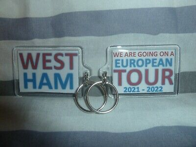 £4 • Buy XY000109 West Ham United WE ARE GOING ON A EUROPEAN TOUR Key Ring