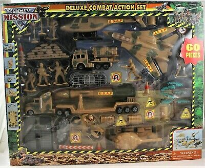 $49.99 • Buy US Airforce Military Play Set 60 Pieces Plastic Army Men Special Mission Deluxe