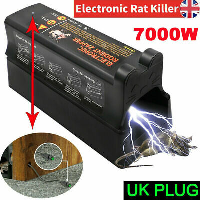 £27.99 • Buy Electronic Rat Trap Mice Mouse Killer Pest Control Electric Rodent Zapper Garden