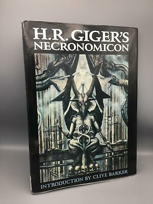 £302.30 • Buy Giger, H. R.; H. R. Giger's Necronomicon; Morpheus International; First Edition