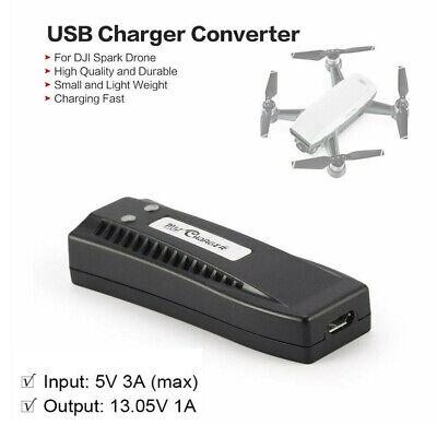 AU27.16 • Buy Portable Universal Converter Micro USB 5V 3A Battery Charger For DJI Spark Drone