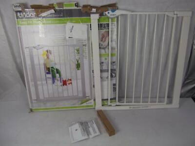 £29.99 • Buy Lindam Easy Fit Plus Deluxe Pressure Fit Safety Gate - 76-82 Cm, White