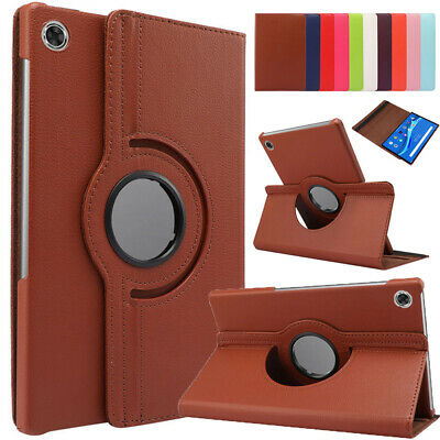AU16.99 • Buy Rotating Leather Stand Case Cover For Lenovo Tab M10 HD TB-X306F/X 10.1  Tablet