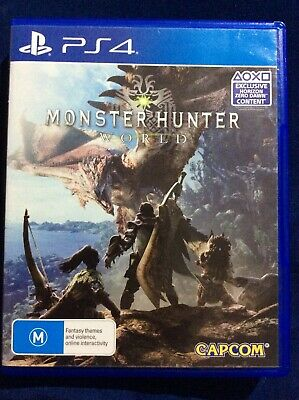 AU13.99 • Buy PS4 PlayStation 4 - Monster Hunter World - Excellent Condition