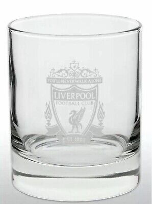 £9.95 • Buy Liverpool FC Official Football Gift Whiskey/ Vodka/ Tumbler Glass