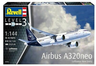 £19.99 • Buy Revell 1:144 - Airbus A320neo Lufthansa New Livery 03942
