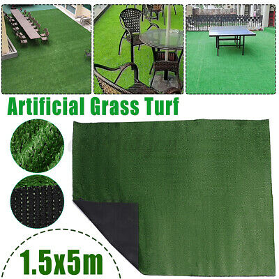 £44.88 • Buy 10mm Artificial Grass Turf  Fake Plant Lawn Astro Synthetic Wall Garden Decor UK