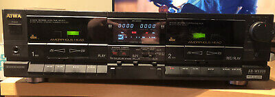 £75 • Buy AIWA AD-WX808 Stereo Double Cassette Deck