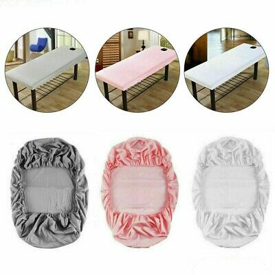 £5.99 • Buy Beauty Massage Table Cover Spa Bed Salon Couch Elastic Sheet Bedding 190x70cm