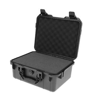 £31.75 • Buy ABS Plastic Tool Instrument Storage Carry Case Outdoor Safety Box Waterproof