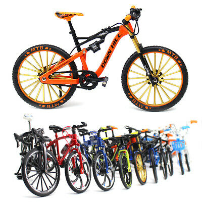 £14.99 • Buy Alloy Simulation Bicycle Model Ornaments Mini Bicycle Toy Model Collection Gifts