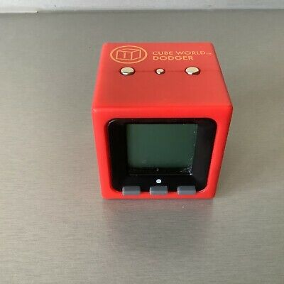 £13.99 • Buy *rare* RADICA Cube World DODGER - SOLID RED  HIGHLY COLLECTIBLE TESTED WORKING