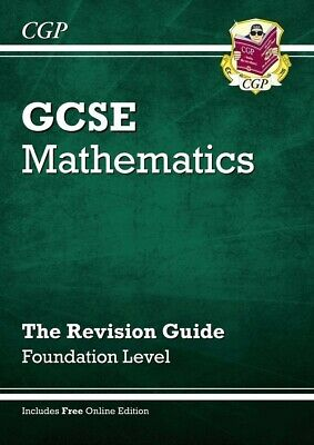 £3.70 • Buy CGP GCSE Foundation Edexcel Maths Revision Guide New, Perfect Condition