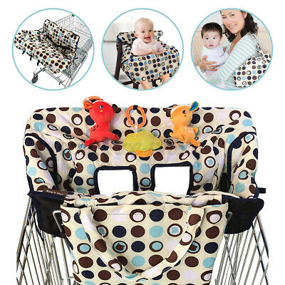 £14.52 • Buy Baby Shopping Cart Cover Cushion Mat Chiid  Protector Seat Supermarket Trolley