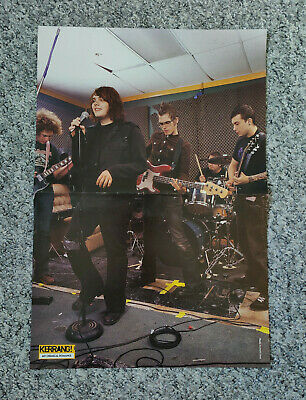 £18.95 • Buy MY CHEMICAL ROMANCE - Large Kerrang Poster - Early 2000's - VERY RARE / VINTAGE