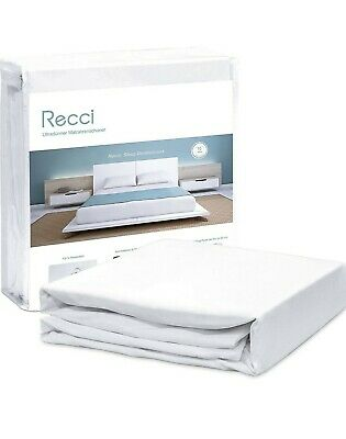 £13.99 • Buy RECCI Ultra Thin Waterproof Mattress Protector Cover - Incontinence Pad 160 X...