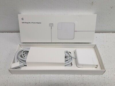 $37.99 • Buy Apple 60W MagSafe 2 Power Adapter Charger For MacBook Pro (MD565LL/A) ORIGINAL