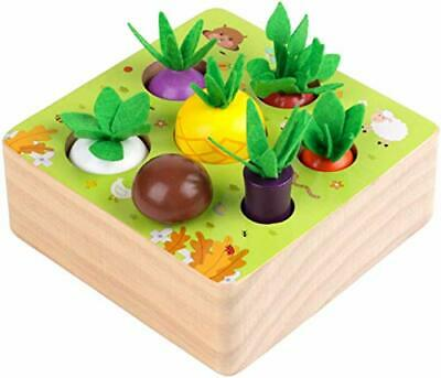 £18.47 • Buy NNY Wooden Toys For 1 2 3 Year Old Boys And Girls Montessori Shape Size Sorting