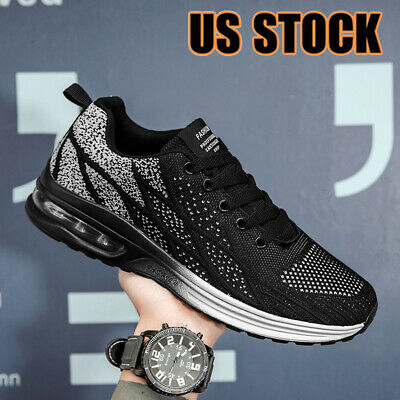 $27.99 • Buy Men's Fashion Air Cushion Sneakers Athletic Outdoor Casual Sports Running Shoes