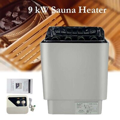 £129.28 • Buy Electric Sauna Heater 9kW Steam Room Sauna Stove W/ Inner Controller For Spa
