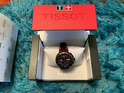 £180 • Buy Tissot Mens T-Race Cycling Vuelta Red Watch T111.417.37.441.0