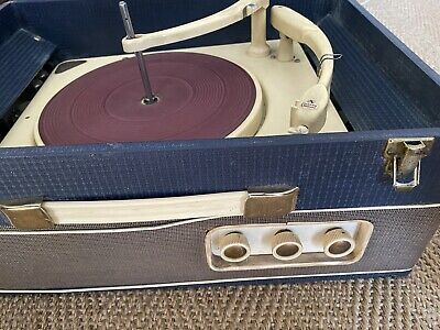 £49.95 • Buy EAR 1960 Balanced High Fidelity Portable Record Player Collaro Conquest Vintage