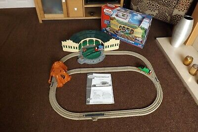 £39.99 • Buy Tomy Trackmaster Thomas Engines-tidmouth Sheds Set, Extended And Boxed,2 Trains
