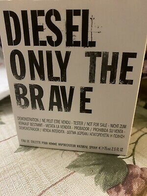 £24.99 • Buy Diesel ONLY THE BRAVE 75ML.EDT.POUR HOMME.spray.