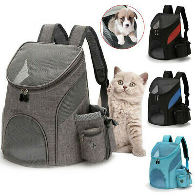 £16.99 • Buy Pet Backpack Carrier Travel Space Capsule Puppy Dog Cat Bags Breathable Outdoor