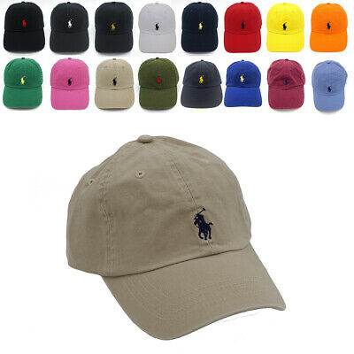 £9.19 • Buy Classic Polo RL Embroidered Small Pony Baseball Cap 100% Cotton 22 Colors Gift