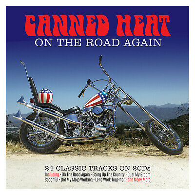 £5.98 • Buy Canned Heat - On The Road Again: 24 Classic Tracks 2CD NEW/SEALED