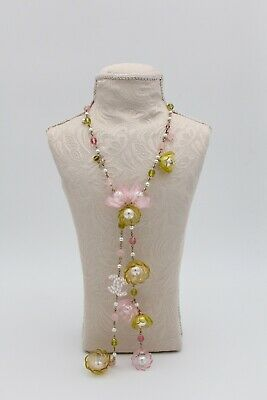 £1769.97 • Buy 100% Auth Necklace Chanel Pearl Flower Long - New With Box