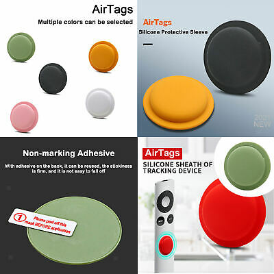 £2.30 • Buy Silicone Case Waterproof Tracker Holder With Key Chain For Apple AirTag