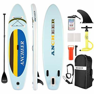 $417.48 • Buy  ISUP Inflatable Stand Up Paddle Board 10', Non-Slip Deck, Military Yellow