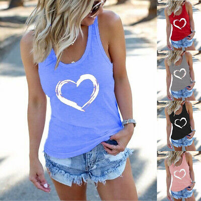 £8.49 • Buy Plus Size Womens Sleeveless Tank Vest Tops Ladies Summer Casual Blouse T-Shirt