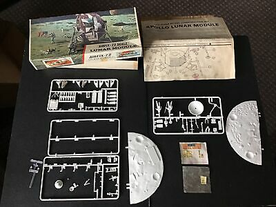 £15 • Buy AIRFIX Lunar Module 1/72 Scale Red Stripe Model Kit  Incomplete Spare Repairs
