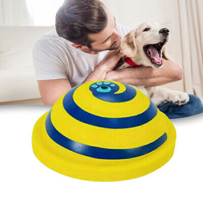 £6.67 • Buy Indoor Soft Safe Play Toy For Dog Pet Toy Sounding Rubber Disc Woof Glider MC