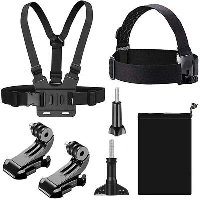 AU26.15 • Buy T Tersely [7 In 1] Head + Chest Harness Strap Mount For GoPro Hero 9 8 7 Black 6