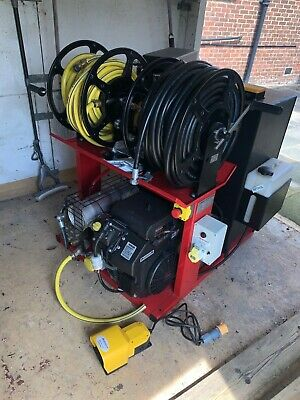£6800 • Buy Robojet WX Van Pack Pressure Washer With Wireless And Foot Control Petrol Euro6