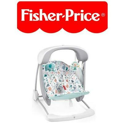 £81.49 • Buy Fisher Price Terrazzo Take Along Swing & Seat 2-in-1 Soothing & Calming Infant