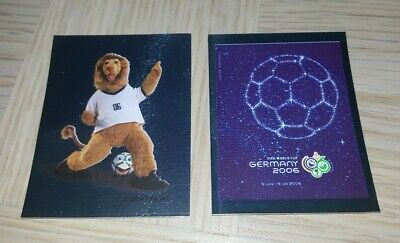 £3.20 • Buy Panini 2006 World Cup Germany Football Stickers #2(Mascot) #4 (Poster)