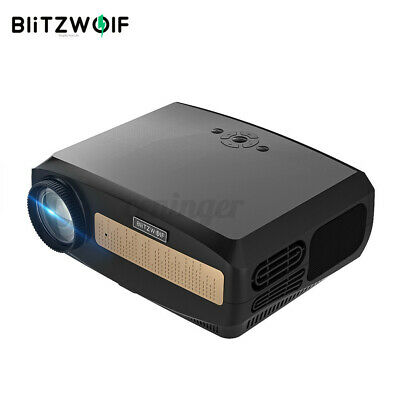 AU296.99 • Buy BlitzWolf HD 1080P LCD Portable Projector Smart  Android 9.0 HDMI Adapter AUS
