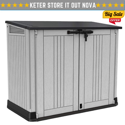£149.98 • Buy Keter Store It Out Nova Patio Storage Box Outdoor Garden Furniture 880L