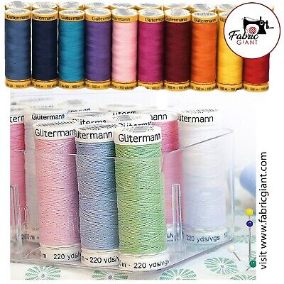 £1.91 • Buy Gütermann Sew-All Thread 100m Reel 100% Polyester Machine + Hand Sewing